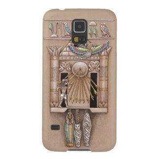 De Egyptische Klok van de Koekoek Galaxy S5 Hoesje