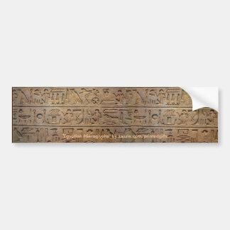 De Egyptische Sticker van de Bumper van