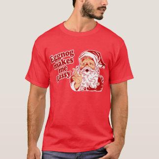 De eierpunch maakt Kerstman Gasachtig T Shirt