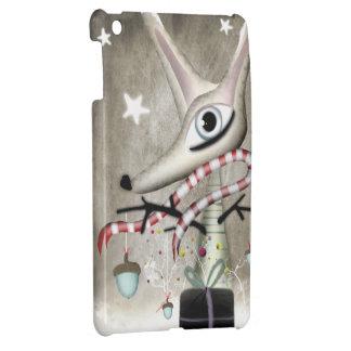 De eikels van de Vos van Kerstmis van de winter iPad Mini Cover