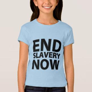 de eind slavernij nu t shirt
