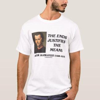 De Einden van Machiavelli van Niccolo T Shirt