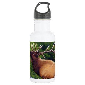 De elanden van de Bugelblazer Waterfles