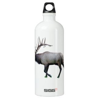 De elanden van de Wapitiherten van de wilg