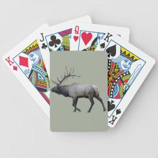 De elanden van de Wapitiherten van de wilg Bicycle Speelkaarten