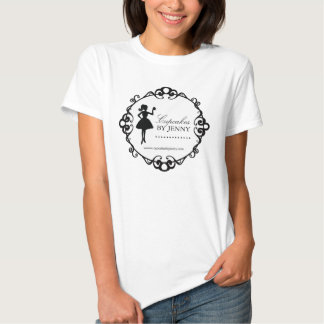 De elegante Bakkerij T'Shirt van het Silhouet Tshirt