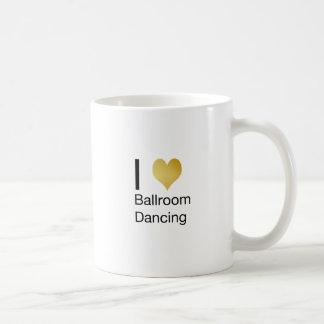 De elegante Ballroom dansen van het Hart van I Koffiemok