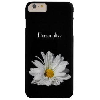 De elegante Bloem van de Margriet met Naam Barely There iPhone 6 Plus Hoesje