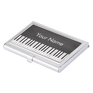De elegante en Moderne Leraar van de Piano van het Visitekaarthouders