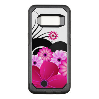 De elegante Fuchsiakleurig Magenta Roze OtterBox Commuter Samsung Galaxy S8 Hoesje