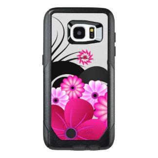 De elegante Magenta Roze Fuchsiakleurig OtterBox Samsung Galaxy S7 Edge Hoesje