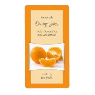 De elegante Marmelade van de Jam van het Jus Etiket