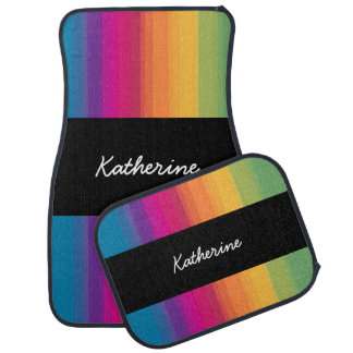 De elegante moderne kleurrijke regenboog van de automat