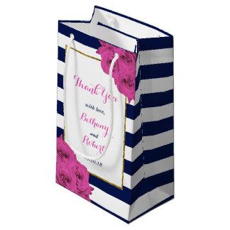 De elegante Moderne Roze Rozen van het Collectie Klein Cadeauzakje