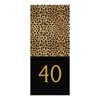 De elegante Partij van de Verjaardag van de 40ste  Uitnodigingen