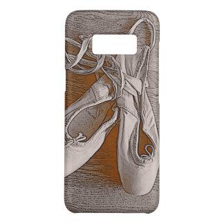 De elegante Sepia Schoenen van de Balletdanser van Case-Mate Samsung Galaxy S8 Hoesje