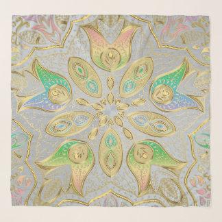 De elegante Sjaal van de Chiffon van Mandala van