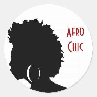 De Elegante Stickers van Afro
