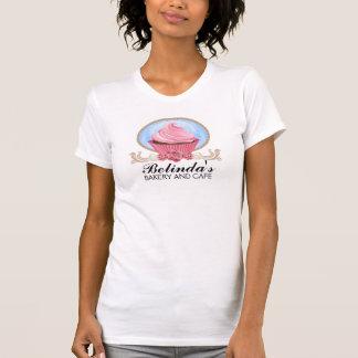 De elegante T-shirt van de Bakkerij Cupcake