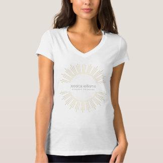 De elegante T-shirt van de Zonnestraal van de