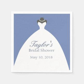 De elegante Toga van het Huwelijk Papieren Servet