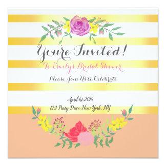 De elegante Uitnodiging van het Vrijgezellenfeest