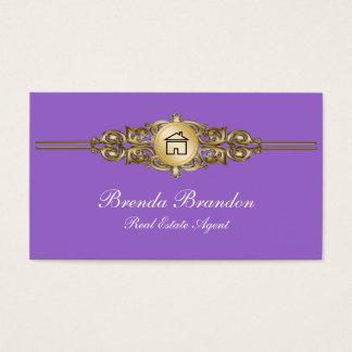 De elegante Visitekaartjes van de Makelaar in