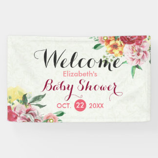 De elegante Welkome Banner van het Baby shower van
