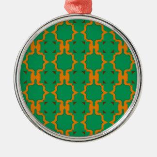 De elementen van het ontwerp, goud, citroen zilverkleurig rond ornament