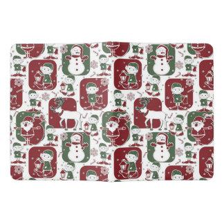 De Elf & de Sneeuwmannen van Kerstmis Extra Large Moleskine Notitieboek