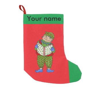 """De Elf van het kenwijsje, de """"Bosrijke"""" Kous van Kleine Kerstsok"""