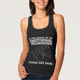 De emotionele T-shirt van de Kat van de Plaats van