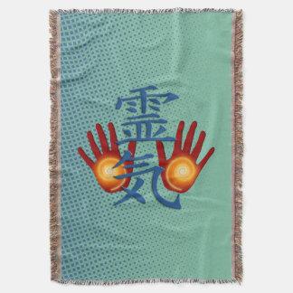 De Energie van Handen REIKI + uw achtergrond Deken