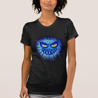 De enge Bloederige Macabere Illustratie van T Shirt