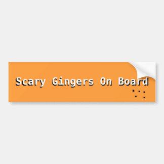 De enge Sticker van de Bumper Gingers