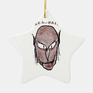 De enge Tekening van de Vampier Keramisch Ster Ornament