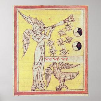 De engel die de Trompet blazen Poster