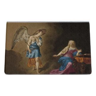 De Engel en Mary van de aankondiging Bureau Visitekaartjeshouders
