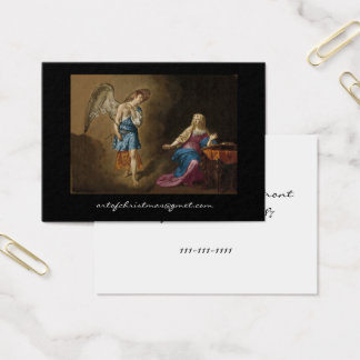 De Engel en Mary van de aankondiging Visitekaartjes