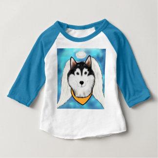 De Engel Malamute van Alaska Baby T Shirts