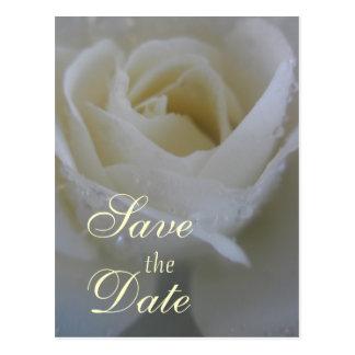 De engel nam Huwelijk toe Briefkaart
