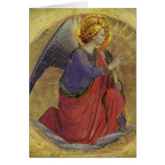 De Engel van Angelico van Fra van Aankondiging
