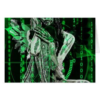 De engel van Cyber Briefkaarten 0