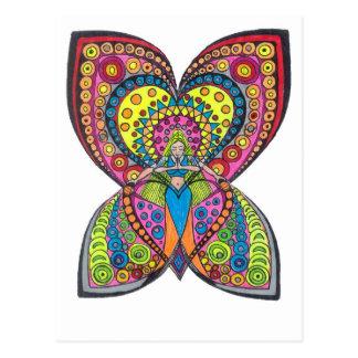 De Engel van de harmonie Briefkaart