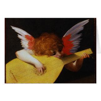 De Engel van de musicus, Rosso Fiorentino Wenskaart
