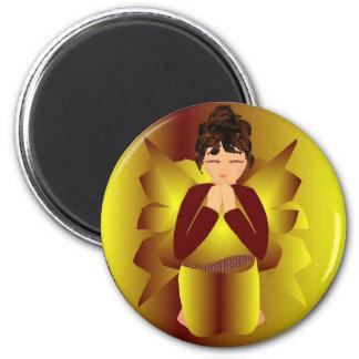 De Engel van de Vrede van Kerstmis Koelkast Magneetjes