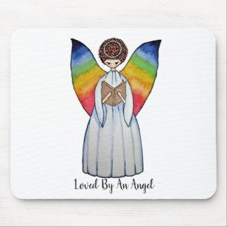 De Engel van de waterverf met de Vleugels die van Muismatten