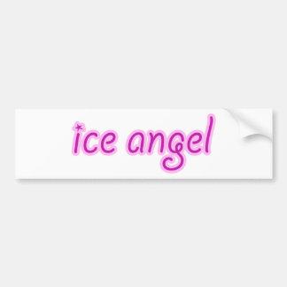 De Engel van het ijs Bumpersticker