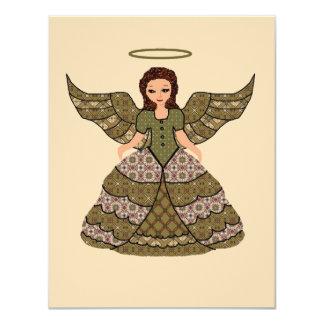 De Engel van het Lapwerk van Nice Kaart