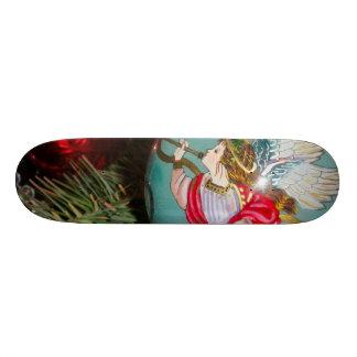 De engel van Kerstmis - Kerstmiskunst - Skateboard Deck